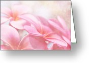 Flowers Of Nature Greeting Cards - Aloha Greeting Card by Sharon Mau