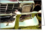 T-bird Greeting Cards - Chevrolet Bel Air 1956  Greeting Card by David M Davis