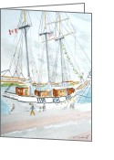Clayton Painting Greeting Cards - Empire Sandy Greeting Card by Robert P Hedden