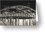 Rochester Ny Greeting Cards - Evening Shade Greeting Card by Ken Marsh