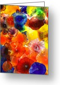 Signature Greeting Cards - Glass Garden Greeting Card by William Dey