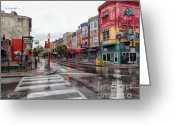 South Philadelphia Photo Greeting Cards - Philadelphia South Street 4 Greeting Card by Jack Paolini
