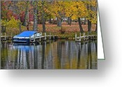 Robert Harmon Greeting Cards - Seasons End Greeting Card by Robert Harmon