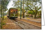 St. Charles Greeting Cards - St. Charles Streetcar Greeting Card by Steve Harrington