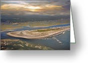 Topsail Island Greeting Cards - Topsail Island Paradise Greeting Card by East Coast Barrier Islands Betsy A Cutler