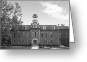 West Virginia Greeting Cards - West Viriginia University Greeting Card by University Icons