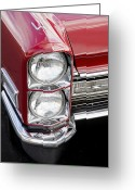 Head Lights Greeting Cards - You Looking at ME Greeting Card by Rich Franco