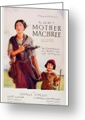 Gaynor Digital Art Greeting Cards - 1926 - Mother Machree Motion Picture Advertisement - Color Greeting Card by John Madison