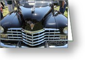 1947 Cadillac Greeting Cards - 1947 Cadillac 6207 Club Coupe 5D22820 Greeting Card by Wingsdomain Art and Photography