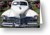 1947 Cadillac Greeting Cards - 1947 Cadillac Series 62 Sedan 5D22824 Greeting Card by Wingsdomain Art and Photography