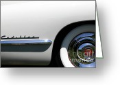 1947 Cadillac Greeting Cards - 1947 Cadillac Series 62 Sedan 5D22826 Greeting Card by Wingsdomain Art and Photography