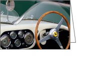 Twitter Greeting Cards - 1953 Ferrari 340 MM LeMans Spyder Greeting Card by Jill Reger