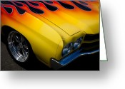 Car Ornaments Greeting Cards - 1970 Chevrolet Chevelle Greeting Card by David Patterson