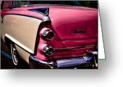 Car Ornaments Greeting Cards - 1955 Dodge Royal Lancer Sedan Greeting Card by David Patterson