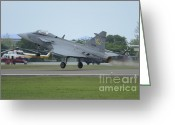 Featured Greeting Cards - A Saab Jas 39 Gripen C Of The Royal Greeting Card by Remo Guidi