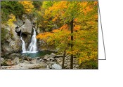 Mt. Washington Greeting Cards - Bash Bish Falls Greeting Card by Bill  Wakeley