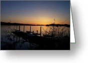 Outdoors Greeting Cards - Ketchikan Alaska Harbor Greeting Card by Michael J Bauer