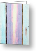Acrylic Paint Sculpture Greeting Cards - Looking Within Door Greeting Card by Asha Carolyn Young