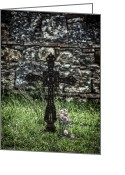 Churchyard Greeting Cards - Memories Greeting Card by Joana Kruse
