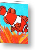 Brandon Drucker Greeting Cards - Nemo Greeting Card by Brandon Drucker