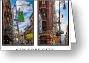 Madeline Ellis Greeting Cards - New York City Greeting Card by Madeline Ellis