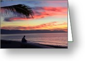 Contemplation Digital Art Greeting Cards - Quiet Contemplation Greeting Card by Natasha Marco