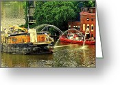 Cuyahoga Greeting Cards - Ship Shape Greeting Card by Robert Harmon