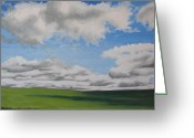 Francois Fournier Greeting Cards - The Prairie Greeting Card by Francois Fournier