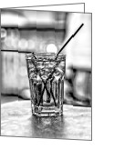 Christopher Holmes Greeting Cards - X Marks the Drink Greeting Card by Christopher Holmes