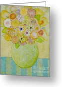 Christine Belt Greeting Cards - Flowers in Heaven Greeting Card by Christine Belt