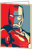 Caio Caldas Digital Art Greeting Cards - Iron Man Greeting Card by Caio Caldas