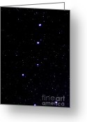 Meteor Photo Greeting Cards - Shooting Star and Big Dipper Greeting Card by Thomas R Fletcher