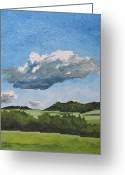 Francois Fournier Greeting Cards - The Cumulus  Greeting Card by Francois Fournier