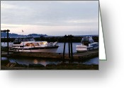 Seattle Framed Prints Greeting Cards - 43 foot Tollycraft at Blake Island Greeting Card by Jack Pumphrey