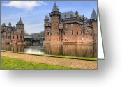 Europa Greeting Cards - Kasteel de Haar Greeting Card by Joana Kruse