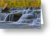 Robert Harmon Greeting Cards - Berea Falls Greeting Card by Robert Harmon
