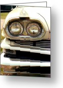 T-bird Greeting Cards - Chrome dream 1960 dodge matador  Greeting Card by David M Davis