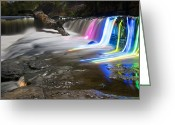 Kentucky Greeting Cards - A Glowing Fall Greeting Card by Wayne Stacy