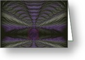 Mysterious Greeting Cards - Abstract 180 Greeting Card by J D Owen