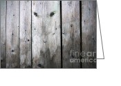 Featured Reliefs Greeting Cards - Aged Wood Boards Greeting Card by Jolanta Prunskaite