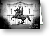Perry Webster Greeting Cards - Andrew Jackson Greeting Card by Perry Webster