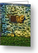 Bill Cannon Greeting Cards - Banjo Mandolin in the Morning Greeting Card by Bill Cannon