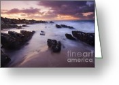 Twilight Greeting Cards - Basham Twilight Greeting Card by Mike  Dawson