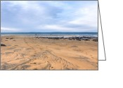 Atlantic Beaches Greeting Cards - Beautiful Beach Near Fanore Ireland Greeting Card by Mark E Tisdale