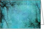 Abstraction Greeting Cards - Branches Greeting Card by Priska Wettstein