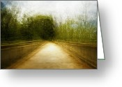Fantastic Greeting Cards - Bridge to the Invisible Greeting Card by Scott Norris