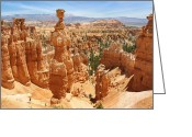 Red Rocks Greeting Cards - Bryce Canyon 3 Greeting Card by Mike McGlothlen