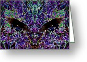 Spicebush Digital Art Greeting Cards - Butterfly Reflections 06 - Spicebush Swallowtail Greeting Card by EB Schmidt