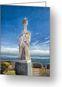 Point Loma Greeting Cards - Cabrillo National Monument - Point Loma California Greeting Card by Jon Berghoff