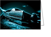 Phil Motography Clark Photo Greeting Cards - Cadillac Lowrider Greeting Card by motography aka Phil Clark